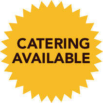 Catering Available